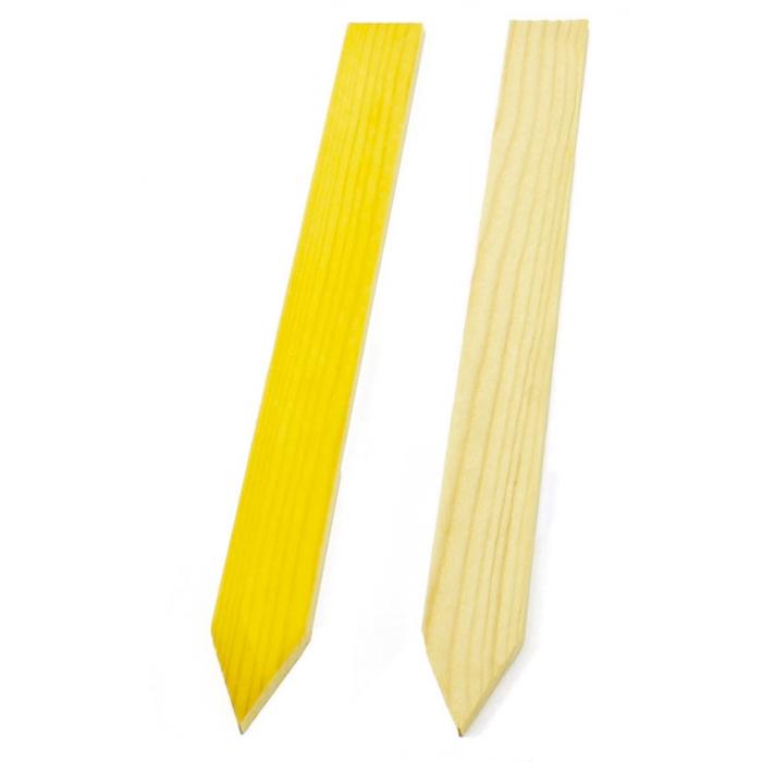 Stick-in Träetikett 40 X 3,7 Cm