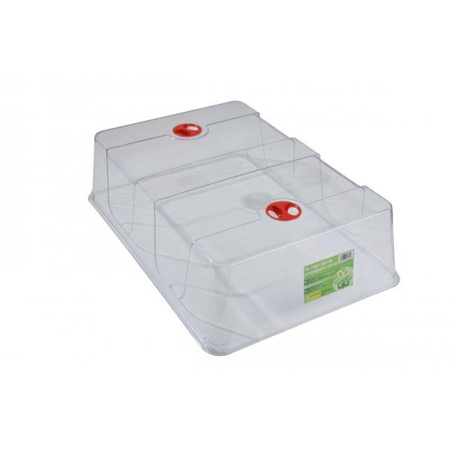 Transparent Huv Med Ventilation XL