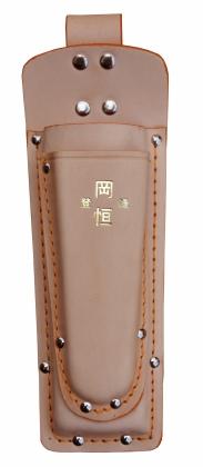 Dubbel Läderhölster Okatsune 130