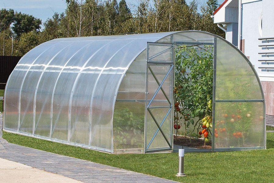 Växthus 18M² 3 X 6 M PC 6 Mm